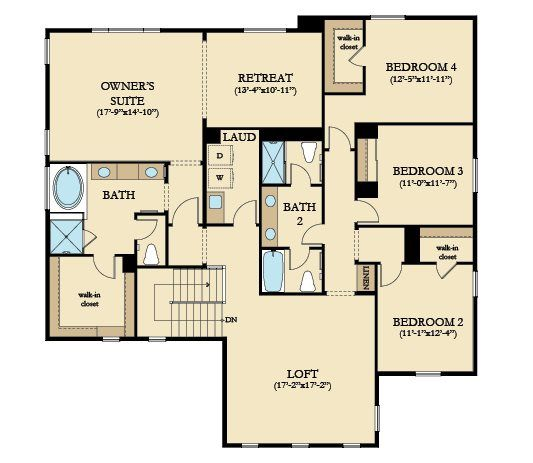 Residence Four Next Gen New Home Plan In Tracy Hills Topaz By Lennar New House Plans House Plans New Homes