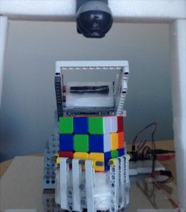 Rubik's Cube® Solver using an Arduino and MATLAB