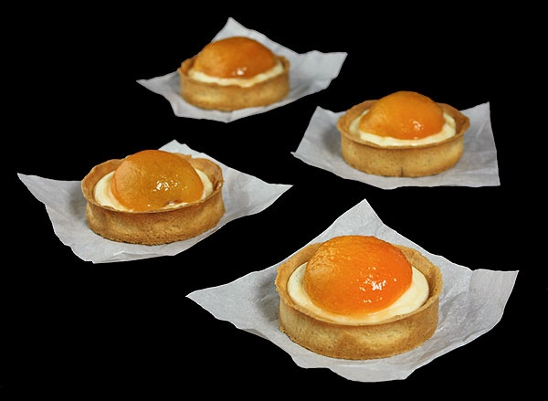 Mini Apricot Tart - beautiful and decadent, must try for something special