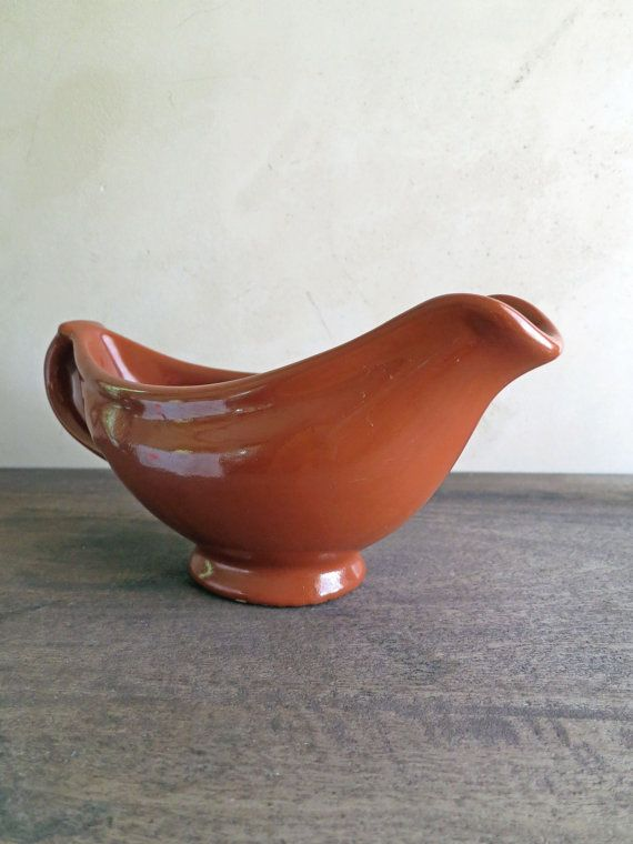 Tepco China Gravy Boat Brown Gravy Boat Restaurant by MinniesFlea