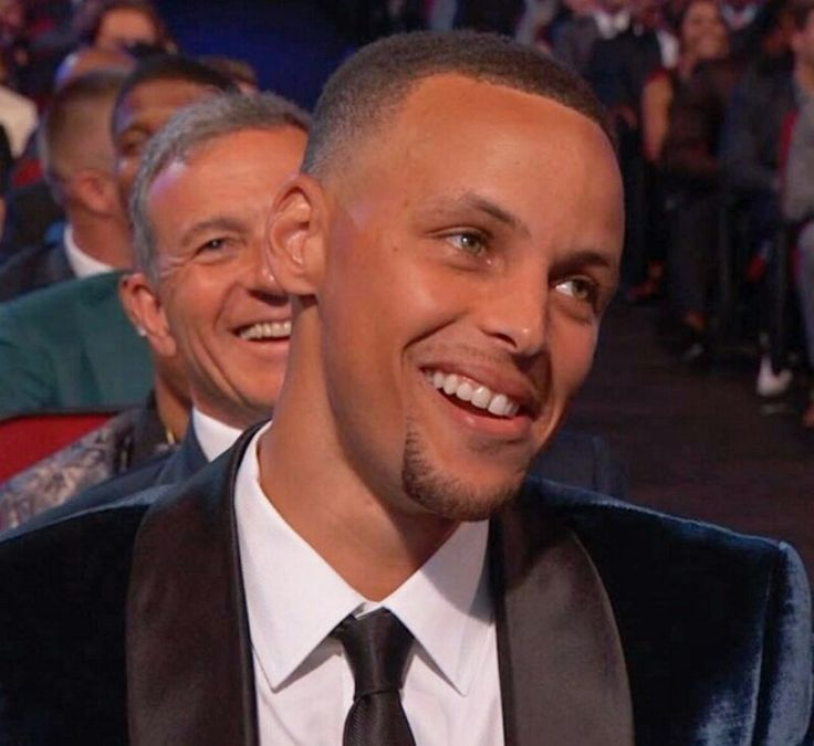 """Curry's face when ESPYS host John Cena seggested KD is the new """"bad guy"""" of the NBA."""