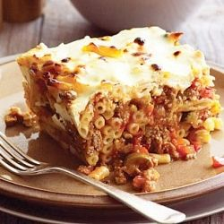 Beef Pasticcio is easy to make, healthy yet delicious recipe to tickle your tastebuds for a delectable treat.