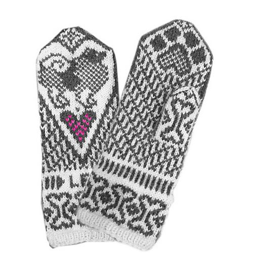 Ravelry: Keeshond mittens pattern by Jorid Linvik