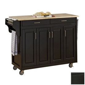 1000 ideas about black kitchen island on pinterest for Kitchen cabinets lowes with papiers carte grise