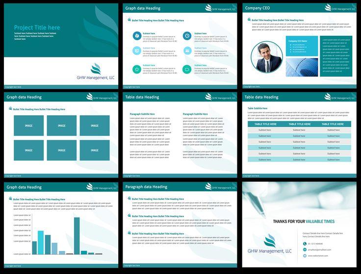 PowerPoint Design by Best Design Hub for Investor Presentation - Design #5347496