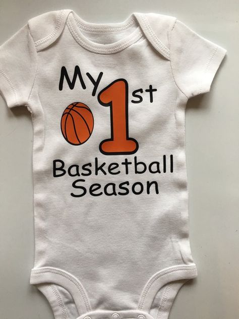 Baby boy Basketball outfit  baby boys 1st by AboutASprout on Etsy