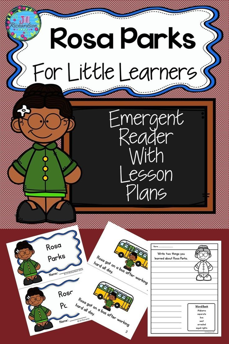 Rosa Parks Activities Rosa Parks For Kids Little Learners Rosa Parks Activities