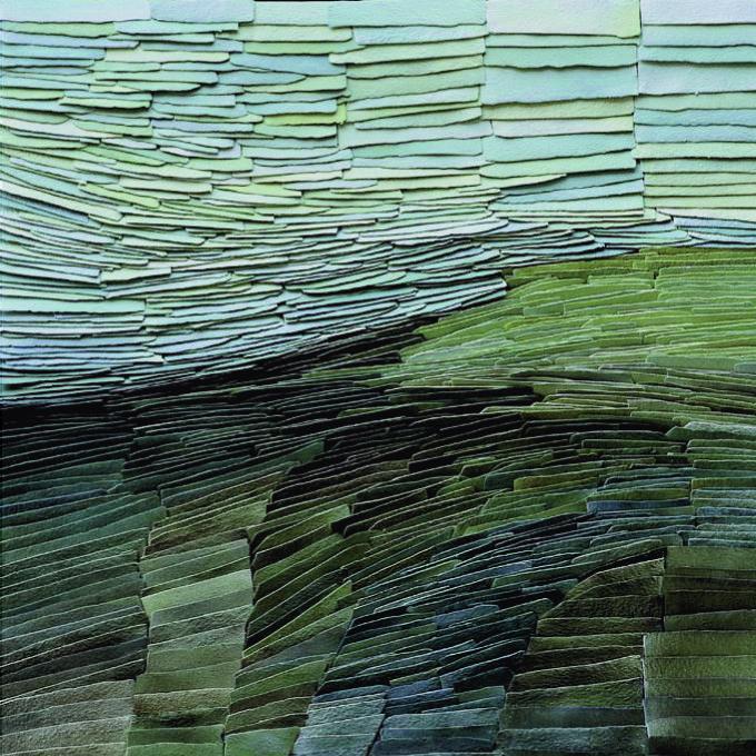 """red-lipstick: """"Jeanne Opgenhaffen (b. 1938, Nieuwkerken-Waas, Belgium) - The Search For Green Porcelain Arts """""""