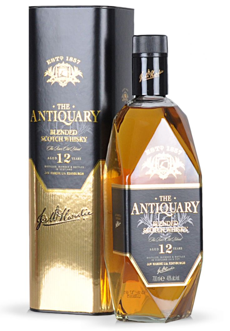 Whisky The Antiquary Blended Scotch, 12 ani (0.7L) - SmartDrinks.ro