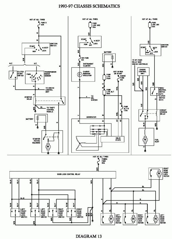 10 1992 toyota corolla electrical wiring diagram  wiring