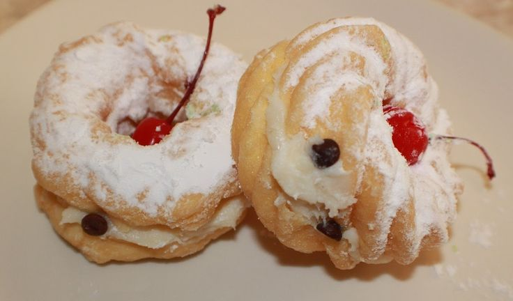 ... Style Cuisine: Zeppole DI San Giuseppe St. Joseph's Day Cream Puffs