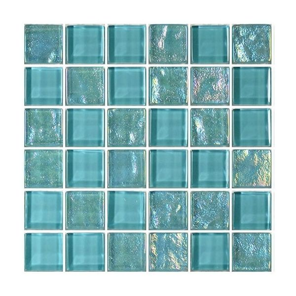 Turquoise 1 X 1 Twilight Series Glass Pool Tile By Artistry In Mosaics Gt82323t4 Blue Water Pool Mosaics Glass Pool Glass Pool Tile Pool Tile