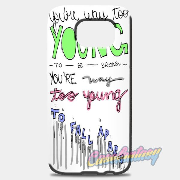 3Oh!3 I M Not The One Lyric Cover Samsung Galaxy S8 Case | casefantasy