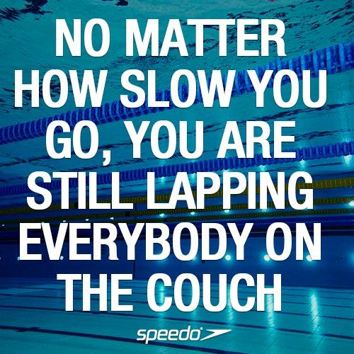 "I wish I could go back and tell this to my 10 year old self...I was pretty hard on myself... I never won a race... ever. But I just kept swimming...like Dori:) And I still love swimming today. So ""just keep swimming, just keep swimming..."""