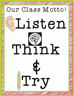 Listen, Think, and Try!