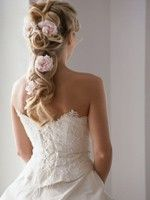 Irish Wedding Dress 1  The Hair for Maid of Honor