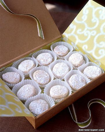 Lime Meltaways...yummy and a great gift!