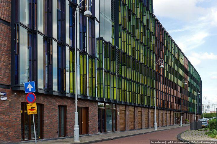 Квартал Фуненпарк в Амстердаме