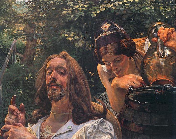 Malczewski Jacek Chrystus i Samarytanka.jpg