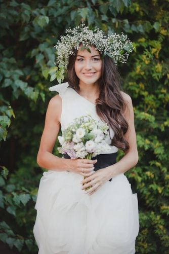 красавица-невеста в платье от Vera Wang / beautiful bride wearing Vera Wang dress