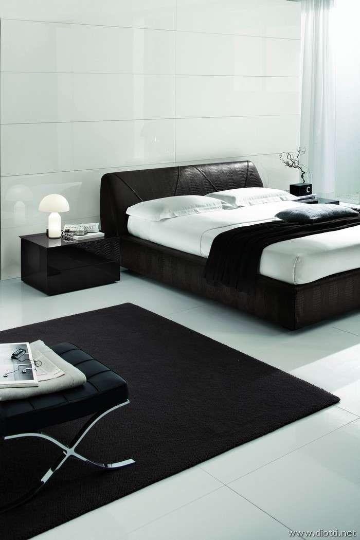 Camera da letto dal design futuristico