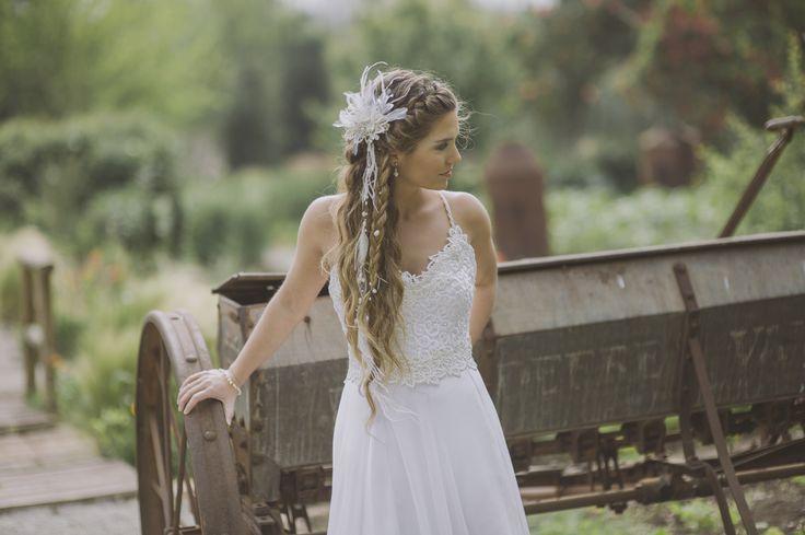 Un peinado de Novia Soft, simple y romántico.