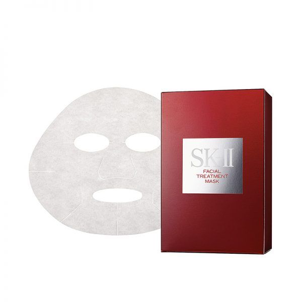 - A treatment sheet mask repairs skin with deep hydration. A 10-minute session works wonders.