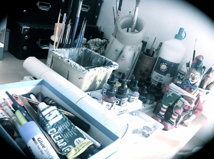 """Paints, brushes, palettes, inks, pencils and good paper is what you need for art."" -Actually, all you need is ideas."