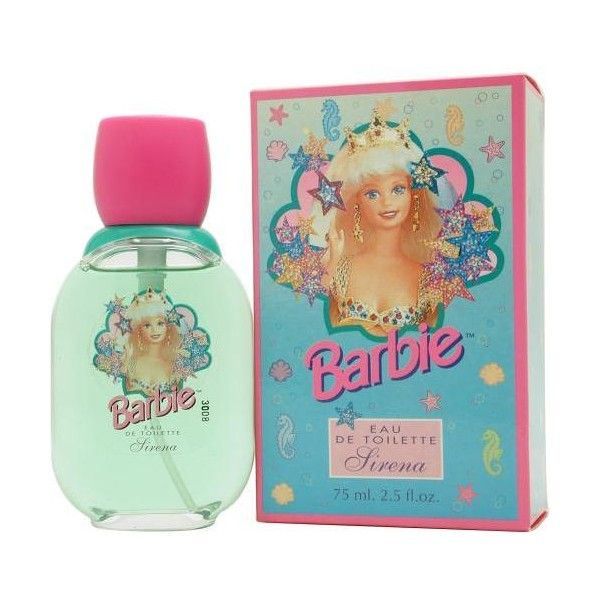 Barbie Sirena By Mattel Edt Spray (1.015 RUB) ❤ liked on Polyvore featuring beauty products, fragrance and mattel