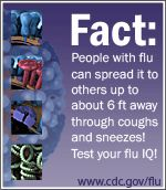 The Flu I.Q. widget is an interactive quiz to test your flu knowledge.