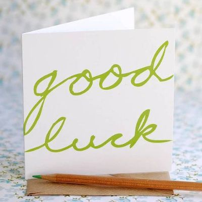 Good Luck Card Messages for New Job