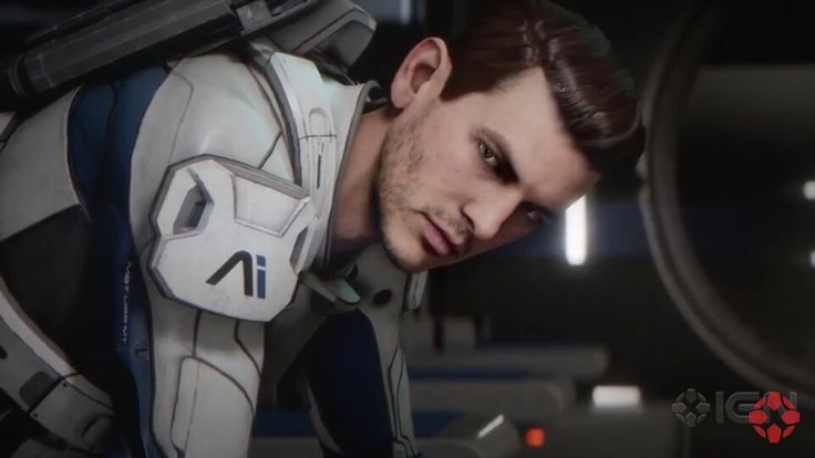 Scott Ryder, Mass Effect Andromeda (click to watch the new trailer)