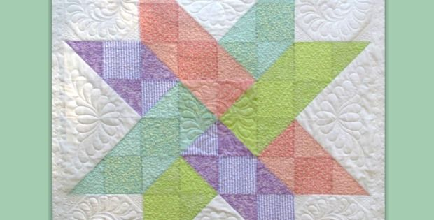 This Charmer is Easy to Make! This charming Hidden Star Quilt by Annie McHugs is actually quite simple to piece yet produces an eye-catching quilt. She developed the pattern herself and creatively chose her fabrics to increase the visual complexity. You can stay with her color scheme or vary it to suit your tastes. This …