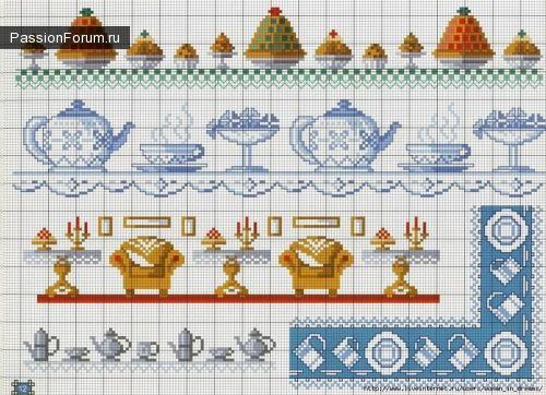 Узоры для вышивки салфеток, скатертей, полотенец - 3. Обсуждение на LiveInternet - Российский Сервис Онлайн-Дневников