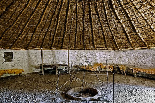 Iron-age round house - Chiltern Open Air Museum