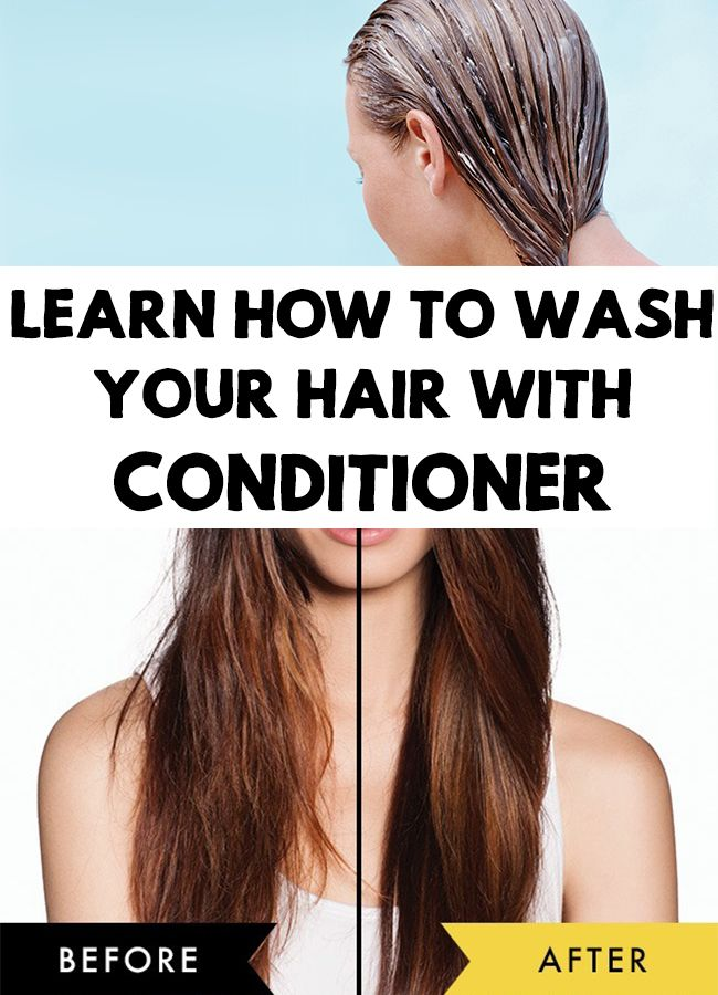 It sounds strange but it works! Find a new beauty method for your hair: Co-washing! Learn how to wash your hair with conditioner!