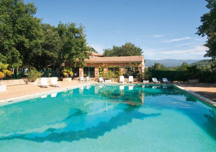 Campgrounds - Domaine des Chênes Blancs - ST SATURNIN LES APT - Vaucluse in Provence - luberon