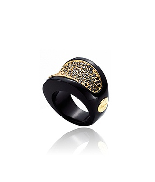Deco ring by Babette Wasserman