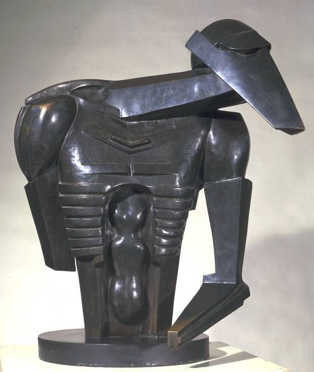 Sir Jacob Epstein, 'Torso in Metal from 'The Rock Drill'' 1913-14