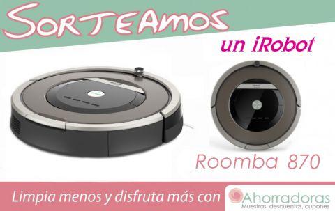 Sorteamos un iRobot Roomba 870