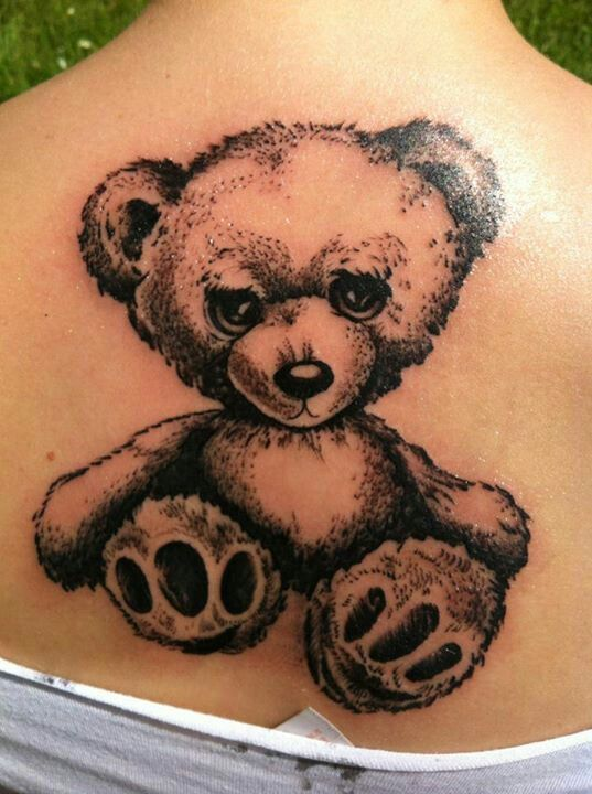 10 best tattoo ideas images on pinterest tattoo ideas teddy bears and teddybear. Black Bedroom Furniture Sets. Home Design Ideas