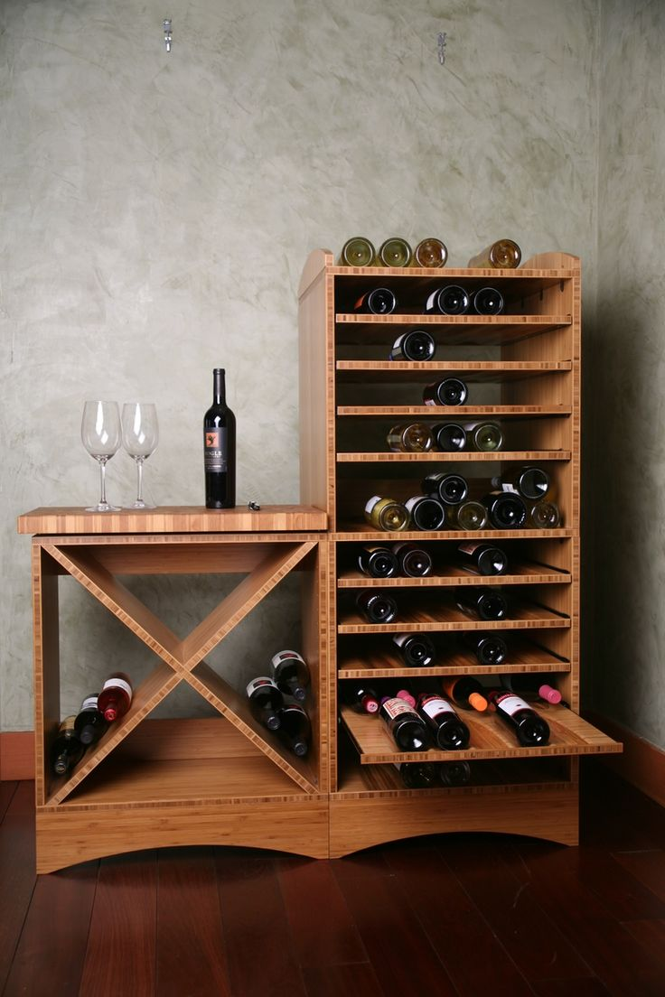 Custom Made Wine Cube by Taghkanic Woodworking