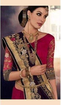 Maroon Color Georgette Designer Wear Style Saris Blouse | FH548982215 Follow @heenastyle << #designersarees, #partywearsareesonline, #sareeonline, #latestcollection, #bridalsaree, #cottonsaree, #bollywoodsarees, #onlineladiessarees, #sarees, #sari, #saris, #saree, #designersaris, #festivalssaris, #shoppingsareesonline, #onlineindiandesignerbollywoodsarees, #fashionsaris, #weddingsarees, #newstylistIndiansarees, #silksaree, #heenastyle, #heenastylesari #hennasari, #readytowaersaree…