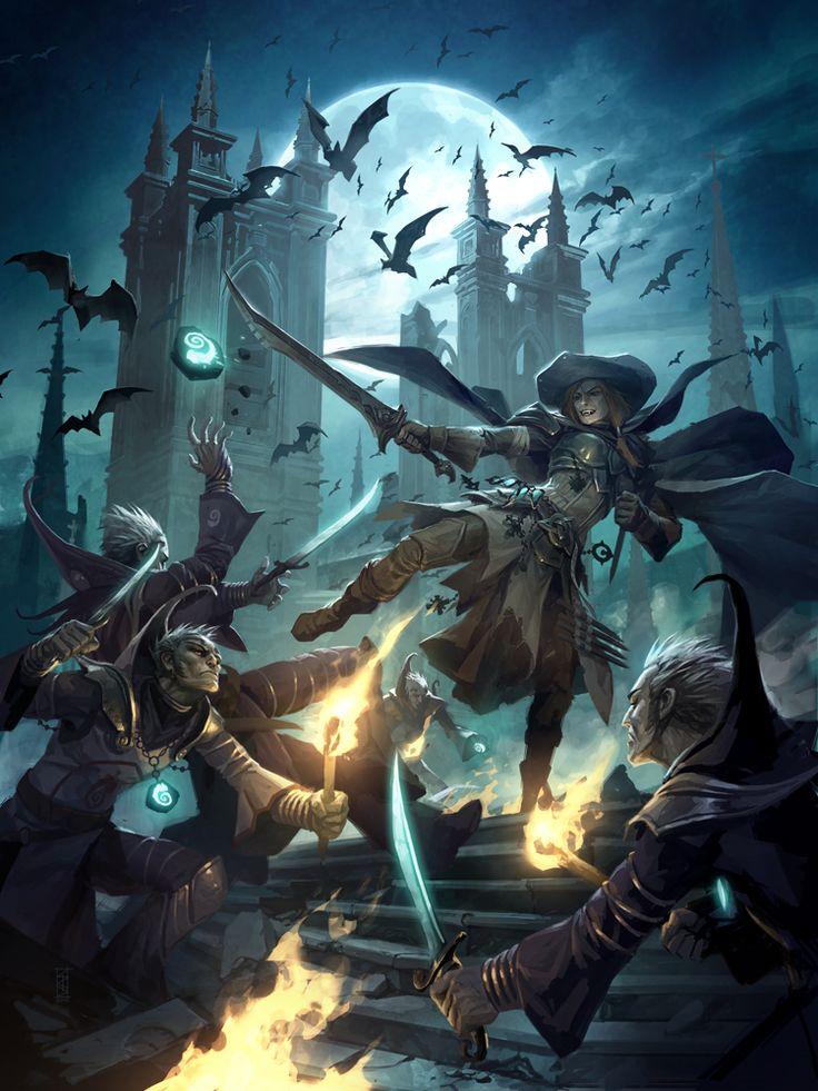 Blood of the Night by michalivan.deviantart.com