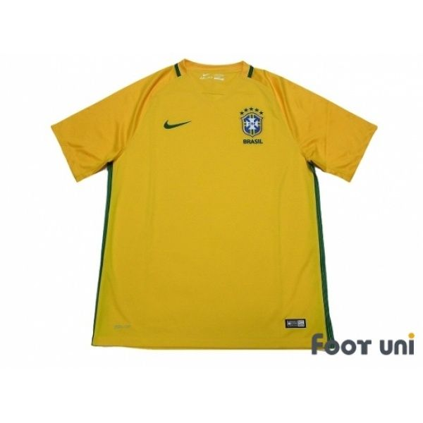 Photo1: Brazil 2016 Home Shirt - Football Shirts,Soccer Jerseys,Vintage Classic Retro - Online Store From Footuni Japan