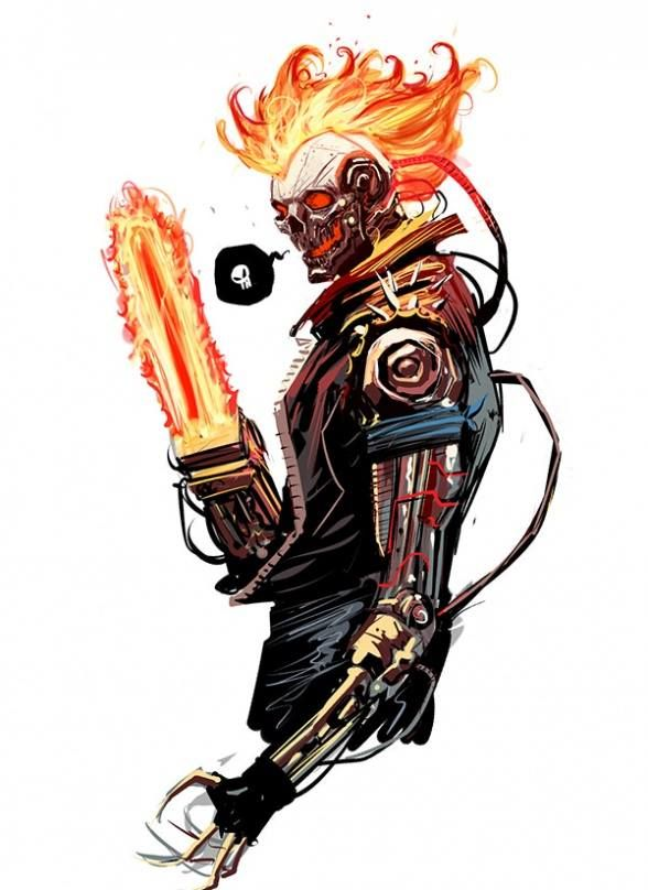 17 Best images about Ghost Rider on Pinterest | Ghost rider marvel ...