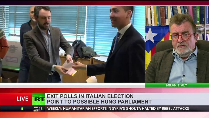 Anti-establishment Eurosceptics surge in Italian election – exit polls  Voting has ended in Italy's general election, and exit polls point to a possible hung parliament, with voters favoring anti-establishment and centre...
