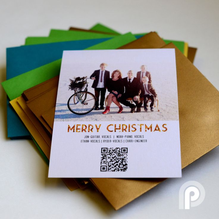 Make Your Own Christmas Card Ideas Part - 48: Create Your Own Custom Musical Card With QR Codes