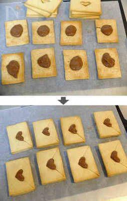 材料4つ♪ガーナの箱を使って簡単デコ♪ ハートから溢れるはチョコと感謝です♡ バレンタインにいかがです?(^^)