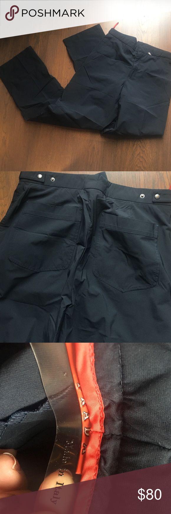 Prada navy pant No size marked - fits men's 30/32 Prada Pants